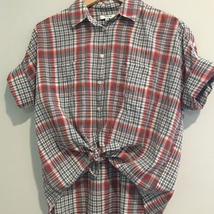 Madewell courier shirt • size S